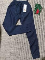Título do anúncio: Calça jogger Styllo jeans leve