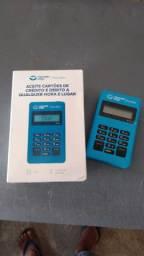 Maquineta de cartão de crédito ou débito
