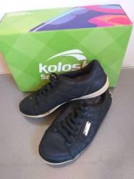 Tênis Kolosh de couro número 35