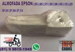 Almofada Esponja Feltro Epson L355 L365 L375 L395 L455 XP214