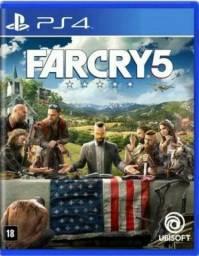Vende-se Jogo de PS4 - Far Cry 5