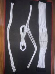 Título do anúncio: Cabos sleeved (extensor)