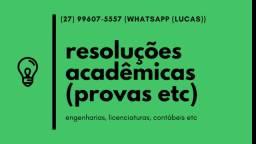 Faço Provas de Exatas em Tempo Real/ Faculdades EAD Online do Brasil