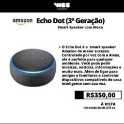 Alexa (Eco Dot 3 geração) Lacrado