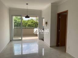 Apartamento com 1 dormitório para alugar, 55 m² por R$ 1.400,00/mês - Vila São Pedro - São