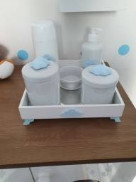 Kit higiene porcelana bebê