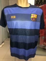 Camisa Barcelona e Real Madrid