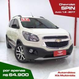 Título do anúncio: Chevrolet Spin 1.8 Ativ Automático