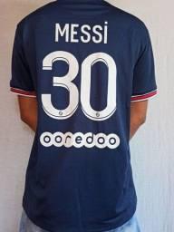 Título do anúncio: Camisa do PSG - Tamanho: G - Messi