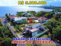 Casa Triplex Espetacular No Condomínio Jardim Das Américas Com 05 Suítes