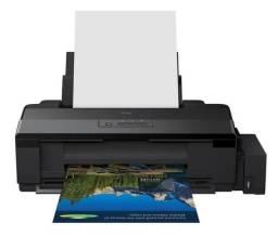 Impressora A Cor Epson Ecotank L1800 110v Preta