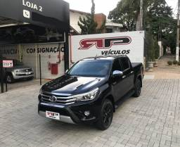 Hilux SRX 4x4 2.8 Turbo Diesel Autom 2018 Troco e Financio