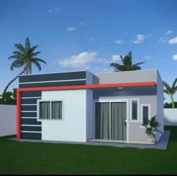 Casa com 3 dormitórios, sendo 2 suítes, à venda, 91 m² por R$ 318.000 - Coroa Vermelha - S
