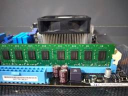 Kit Amd fx 4300 + Placa Mãe M5A7BL-M LX/BR