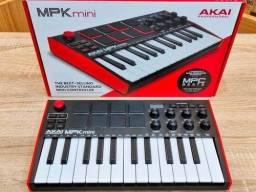 Título do anúncio: Teclado Mpk Mini mk3 - Controlador Midi Usb