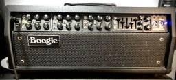 """Título do anúncio: Mesa Boogie Mark V 90w com gabinete Rox Stage 2x12"""" falantes V30 originais"""