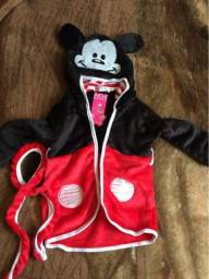 Roupão Infantil Disney Mickey