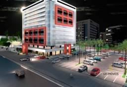 Sala comercial na Jatiúca, 54 m², 2 banheiros privativos
