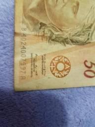 Nota rara de 50 reais