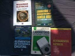Vendo livros de eletrica e eletronica