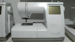 Máquina de bordar domésticas Janome e bernina