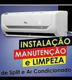 Refrigeração instalação desinstalação em Splits Ar