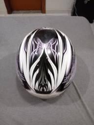 Vendo capacete seminovo tamanho 58