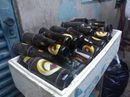 Cascos de cerveja litrão e profissa