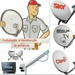 Técnico Instalador Sky Claro Oi Net HDTV