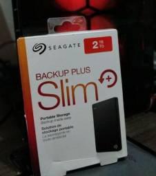 HD externo seagate backup plus slim 2tb
