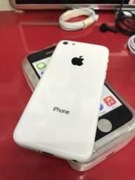 Iphone 5c Branco sem marcas de uso!