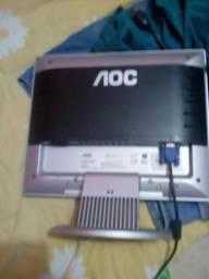 Monitor AOC lcd tela de 15