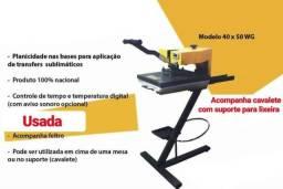 Prensa Térmica 40 X 50 CM - Cavalete Incluso - R$ 1.800,00