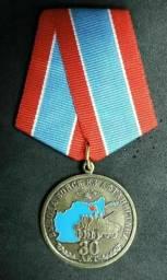 Medalha,Rússia,Original,Militar,Soviética,Exército,Guerra Fria .