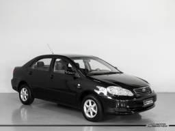 Toyota Corolla XLi 1.6 16V 110cv Aut. - Preto - 2007 - 2007