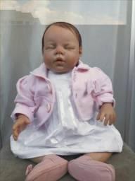 Boneca bebê reborn + Enxoval