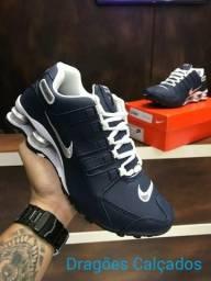 VÁRIOS  Tênis Nike Shox Marinho 38 ao 43 768a135199f