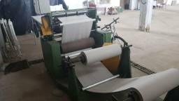 Maquina papel toalha interfolha