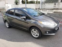 Fiesta SEL 1.6 automático com 33 mil km rodados vendo troco e financio
