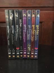 Coleção completa DVD Harry Potter