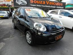 NISSAN MARCH 1.0 4P FLEX 2012 - 2012
