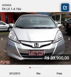 Honda Fit 2012 2013 LX 1.4 Automático - 2012