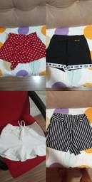 4 shorts NOVOS por 50 reais