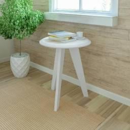 Mesa de apoio moldelo Ellis cor branco