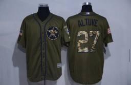 Camisa Oficial de Beisebol MLB Houston Astros Military