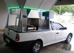 Kit Food Truck para caminhonete Completo
