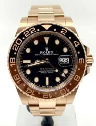 Relogio Rolex GMT Master Rose