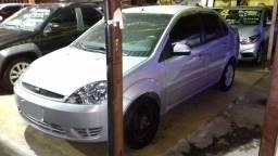 Fiesta Sedan 1.6 2006 Prata Completa Flex+GNV. Entr.+ fixas