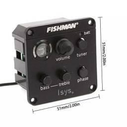 Captador Fishman Isys+ Violão
