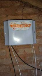Central para cerca elétrica